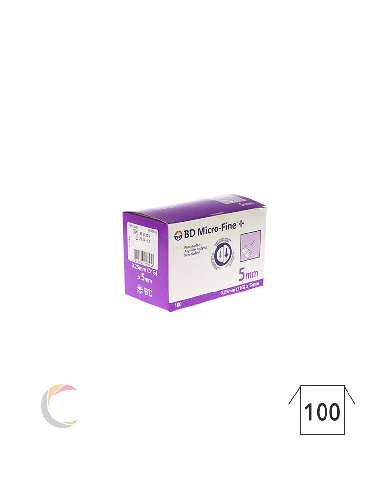 BD MEDICAL Aiguille pour stylo BD Micro-Fine + 31G - 0,25 x 5mm