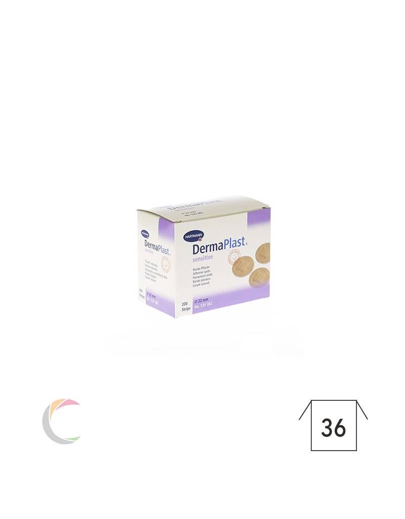 Hartmann Dermaplast sensitive rond 22mm