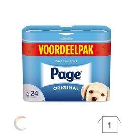 Papier Toilette - 3 plié - promopack 24 rolleaux