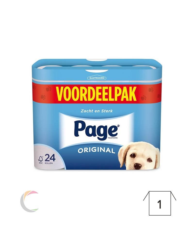 Toiletpapier 3-laags - voordeelpak 24rollen