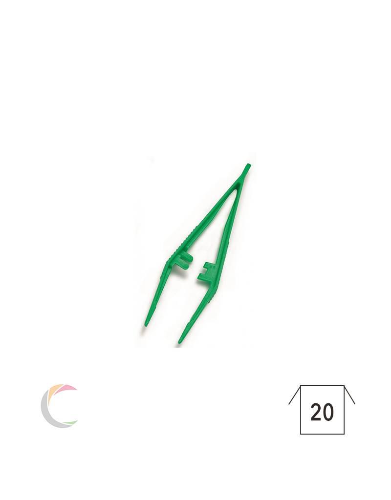 Hartmann  Steriel anatomisch pincet groen 12,5 cm