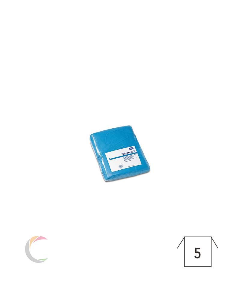 Hartmann Blouses d'isolation à usage unique - Foliodress - Bleu - par 10pcs