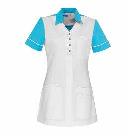 "De Berkel Tablier de soins infirmiers ""CARMEN"" blanc - Copy - Copy"