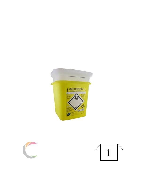Sharpsafe Naaldcontainer Sharpsafe 4L