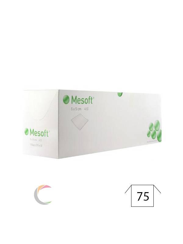 Mölnlycke Mesoft® (steriel) kompres - per 2stuks