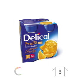 Delical Delical - Appelsien - per 4stuks