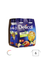 Delical Delical vruchtendrank - Appel - per 4x200ml