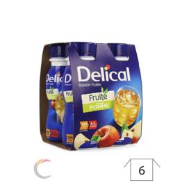 Delical Delical boisson fruitee Pomme - par 4x200ml  - Copy