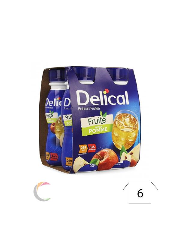 Delical Delical boisson fruitee Pomme- par 4x200ml - Copy
