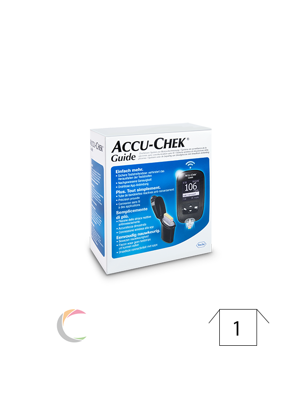 Roche Accu-chek Guide - startkit - lecteur de glycémie