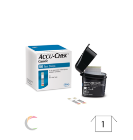 Roche Accu-chek Guide - teststrips - Smartpack 50st