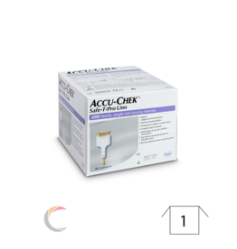 Roche Accu-chek Guide - softclix lancet - par 100pc