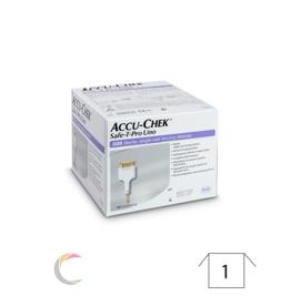 Roche Accu-chek Safe-T-Pro Uno wegwerpprikkers - per 200st