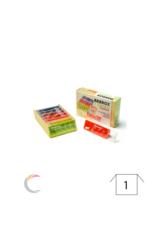 ADhome  Boîte à médicaments enfants Anabox pour 7 jours, 5 compartiments par jour