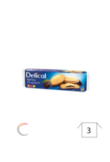 Delical Delical Nutra'Cake koekjes PRUIM- pak van 9st
