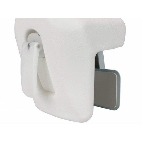 ADhome Handgreep voor op de badrand kunststof - dwarsrichting