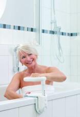 ADhome Multifunctionele en verstelbare handgreep voor op de badrand