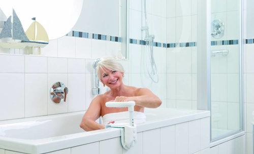 ADhome Poignée multifonctionelle pour le bord de la baignoire