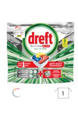 Dreft all-in-one Platinum Citroen vaatwastabletten 8 stuks