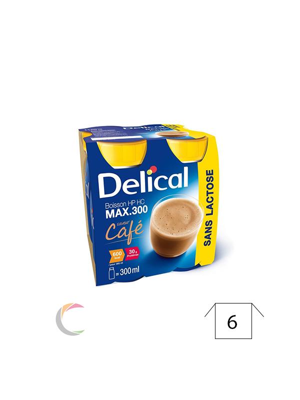 Delical Delical HP HC MAX.300 Koffie superdrankje - per 4stuks