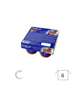 Delical Delical créme dessert - Abricot - par 4pc