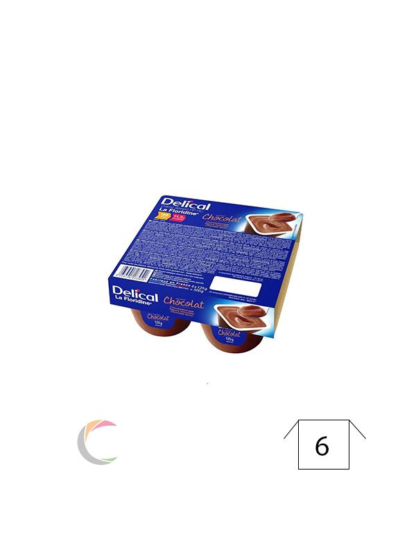 Delical Delical créme dessert - Abrikoos - per 4stuks