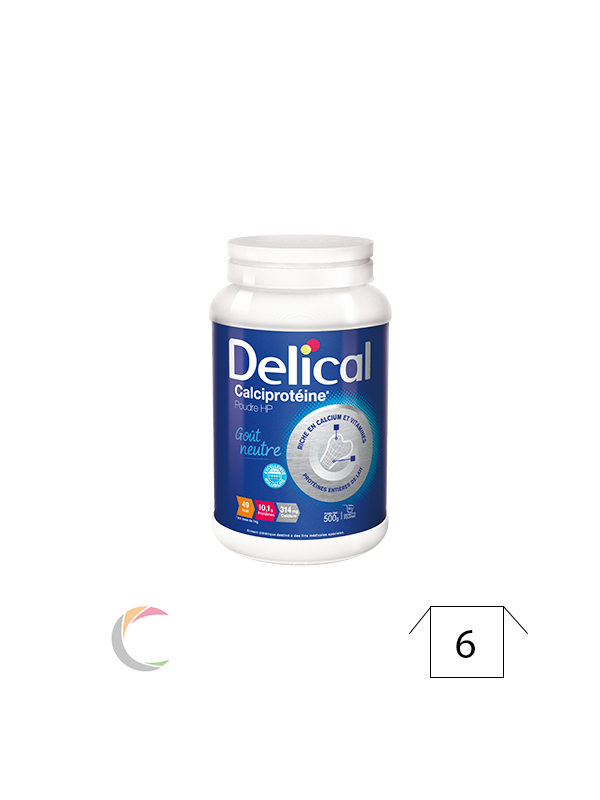 Delical Calciprotéine (poudre hyperproditidique)