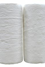 Cumerco Keukenrol 2-laags huismerk - pak van 2rollen