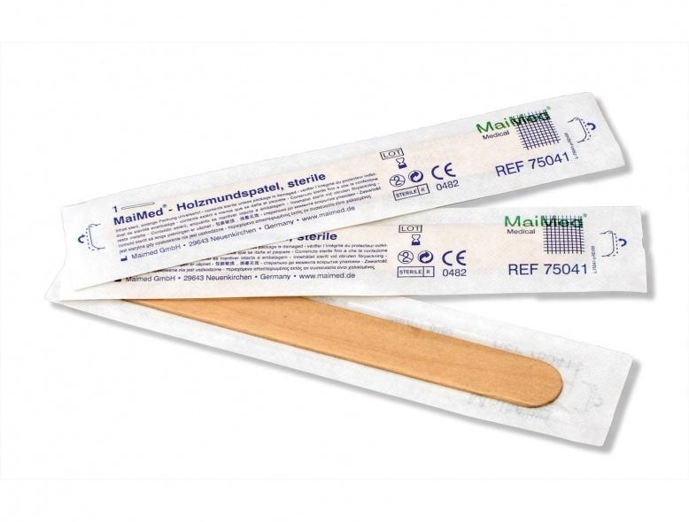 Cumerco Tongspatel steriel - Hout - per doos van 100