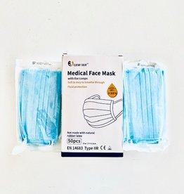 Cumerco Masque de chirugie à élastique IIr - pàr 50