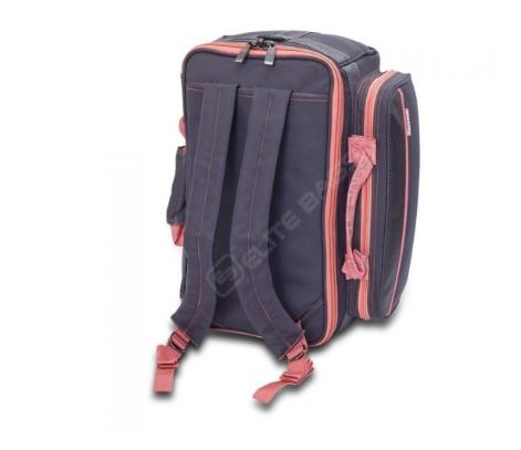 """Elite Bags Verpleegtas """"General"""" - grijs/rood"""