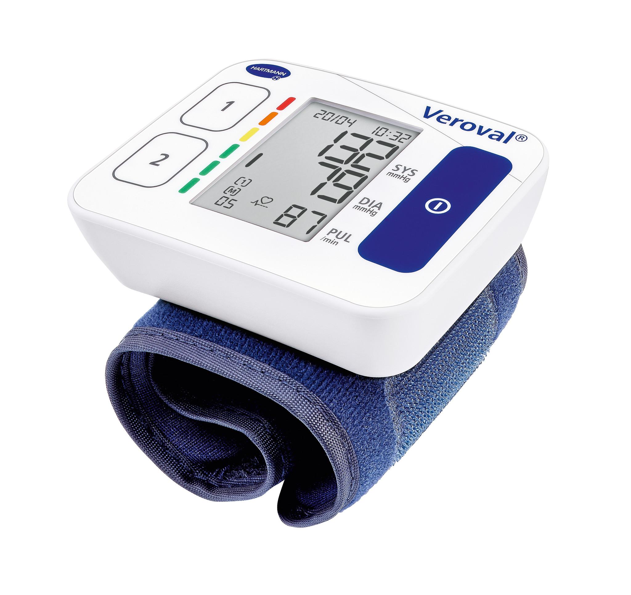 Hartmann Veroval Compact bloeddrukmeter - Pols