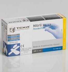 Texa Handschoen Texa Nitrile blauw - SMALL