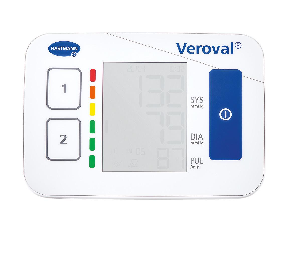 Hartmann Veroval® compact bovenarmbloeddrukmeter
