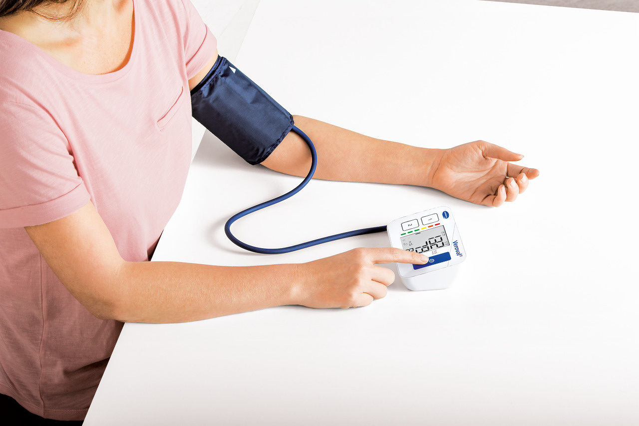 Hartmann Veroval® compact bloeddrukmeter -  bovenarm