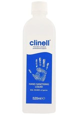Clinell Clinell handontsmetting 520 ml met vernevelpomp 75%