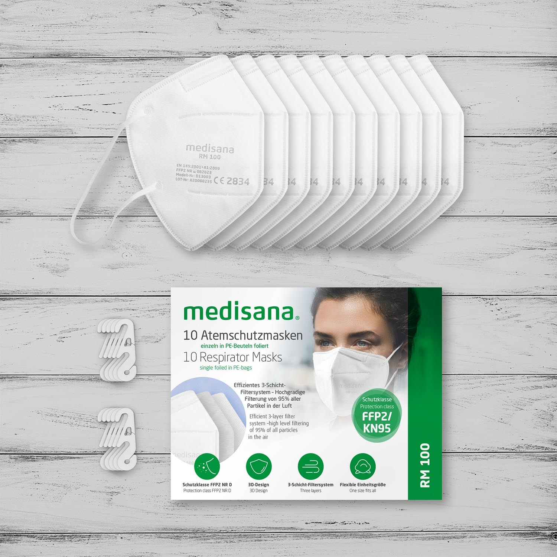 Medisana FFP2 mondmasker (medisch) - per stuk
