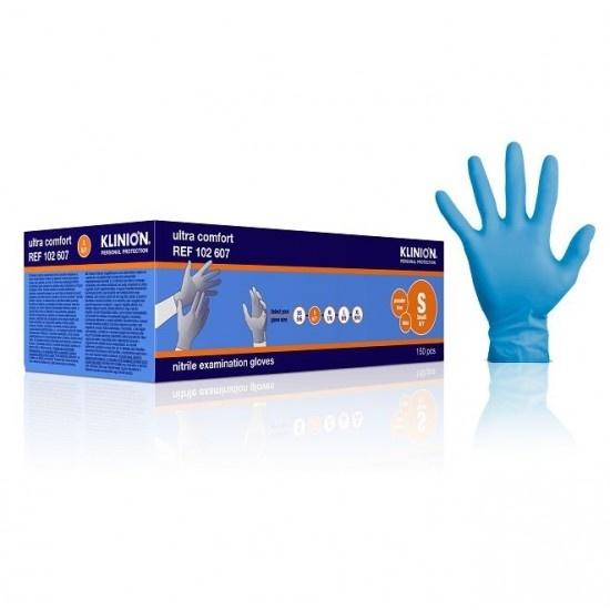 Klinion Klinion gants nitrile - Ultra Comfort - boîte de 150pc