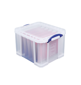Really Useful Box Opbergbox 35L - transparant