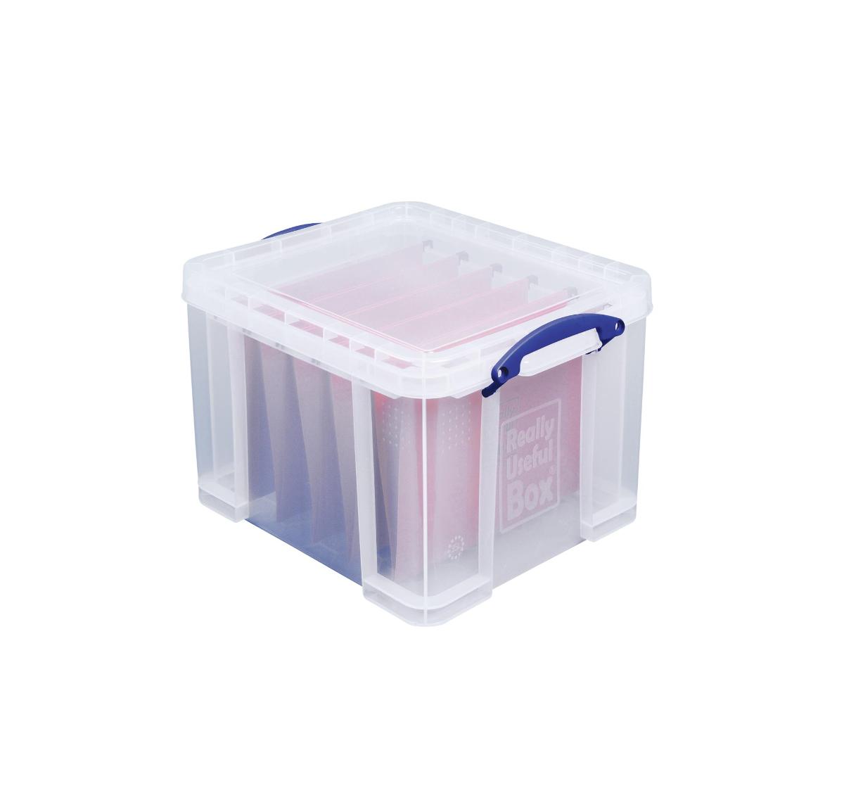 Really Useful Box boîte de rangement 35 litre, transparant