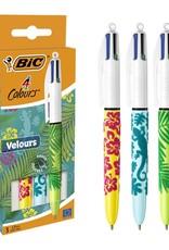 Bic balpen 4 Colours Velours