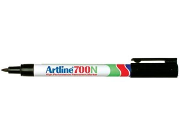Artline 700z permanent marker - fijne punt - zwart