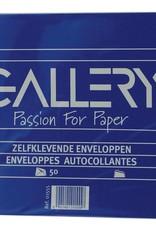 Enveloppen - 114 x 229mm - zonder venster, zelfklevend - pak van 50st