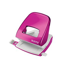 Leitz WOW perforator - roze - 30 blad
