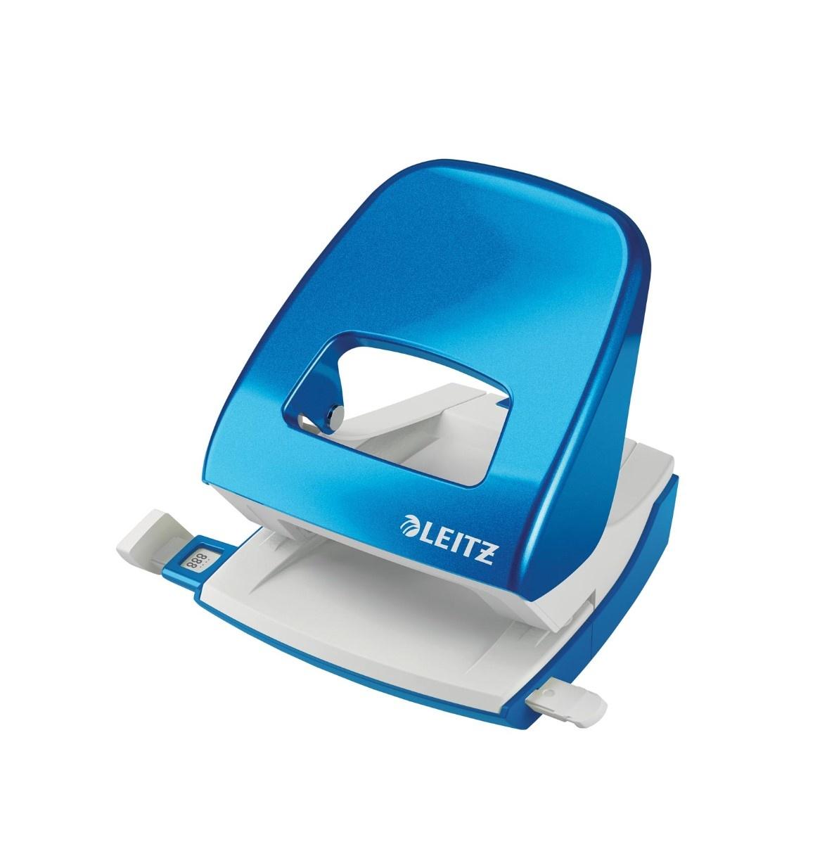 Leitz WOW perforator - blauw - 30 blad