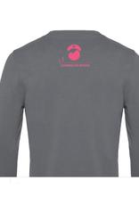 Cumerco Sweater NURSELIFE.ROCKS donkergrijs
