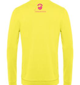 Cumerco Sweater NURSELIFE.ROCKS jaune intense