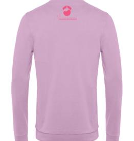 Cumerco Sweater NURSELIFE.ROCKS lila pastel