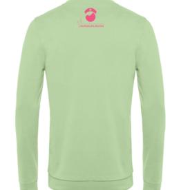 Cumerco Sweater NURSELIFE.ROCKS pastel groen