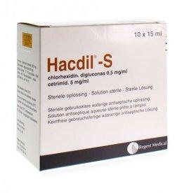 Mölnlycke Hacdil-S - boïte de 10 x 15ml